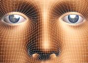 Face Biometrics Print by Pasieka