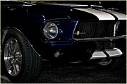 Shelby 350 Posters - Face of a Cobra Poster by DigiArt Diaries by Vicky Browning
