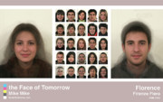 Morph Prints - Face of Tomorrow Florence Print by Mike Mike