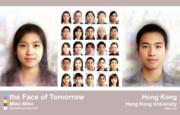 Morph Prints - Face of Tomorrow Hong Kong Print by Mike Mike