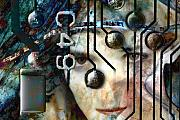 Circuit Mixed Media - Faces No. 1 by Andre Giovina