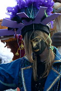 Anna Duyunova Art Photos - Faces of Carnival.Indigo by Anna  Duyunova