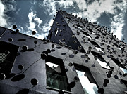 Architektur Metal Prints - Fachada con los Ojos - Barcelona Metal Print by Juergen Weiss