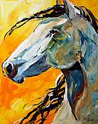 Pony Painting Posters - Facing the Sun Poster by Laurie Pace