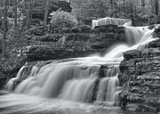 Factory Photos - Factory Falls by Stephen  Vecchiotti