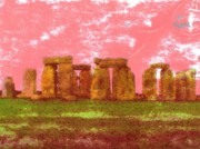 Ancient Ruins Prints - Faded Grandeur Print by Jen White