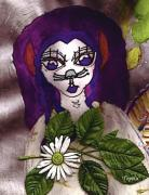 Eyes Mixed Media - Fae cat by Pepita Selles