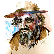 Television Paintings - Fagin by Steven Ponsford