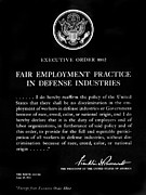 Employment Framed Prints - Fair Employment Act, 1941 Framed Print by Granger