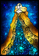Shakespeare Metal Prints - Fair Ophelia Metal Print by Mandie Manzano
