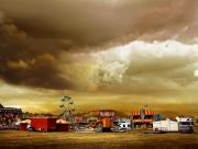 Freak Show Prints - Fair Weather Print by Mal Bray