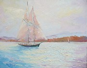 Mariegreen Prints - Fair Winds Print by Marie Green