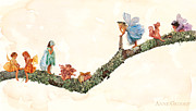 Fairies Posters - Fairies Poster by Anne Geddes