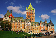 Chateau Prints - Fairmont Le Chateau Frontenac Print by Juergen Weiss