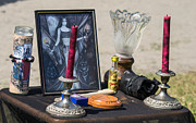 Oil Lamp Photos - Fairy Altar by Joshua Mills
