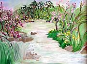 Fairies Originals - Fairy Blossom Falls by Sherri  Of Palm Springs