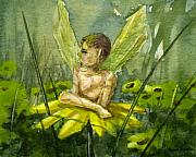 Fantasy Painting Originals - Fairy Boy by Sean Seal