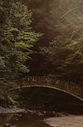 Hocking Acrylic Prints - Fairy Bridge Acrylic Print by Maria Suhr