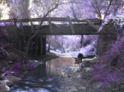 Filtered Light Prints - Fairy Bridge Print by Robert Ball