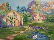 Brenda  Bell - Fairy Cottages