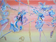 Circus. Paintings - Fairy High Flyer by Judith Desrosiers