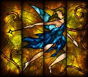 Fairy Tetraptych Print by Mandie Manzano