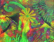 Forest Floor Painting Posters - Fairyland - 5 Poster by Jacqueline Athmann