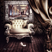 Ballroom Digital Art Posters - Fairytale Poster by Mo T