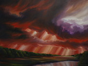 Storms Painting Originals - Faith by James Christopher Hill