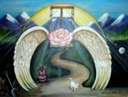 Message Art Art - Faith Journey by Linda Nielsen
