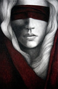 Blindfold Paintings - Faith by Pat Erickson