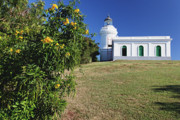 Colonial Architecture Photos - Fajardo Lighthouse by George Oze