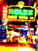 Pix Framed Prints - Fake Rolex in Hong Kong Framed Print by Funkpix Photo Hunter