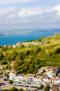 Miniature Effect Photos - Fake toy village view by Simon Bratt Photography