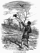 Training Prints - Falconry, 1850 Print by Granger
