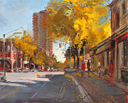 Canada Paintings - Fall 2010 Canada by Ylli Haruni