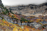 Red Cliffs Prints - Fall at Mt. Timpanogos - Utah Print by Gary Whitton
