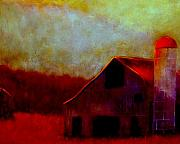 Kent Whitaker - Fall  Barn