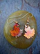 Earrings Jewelry - Fall beauty by Angie DElia