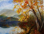Elaine Bailey - Fall by the Lake
