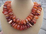 Orange Jewelry Originals - Fall by Cara McMannis