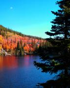 Fall Color Print Framed Prints - Fall Color At Bear Lake 2 Framed Print by Terril Heilman