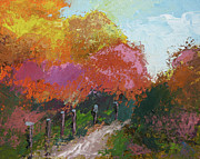 Fall Color Print by Robert Bissett