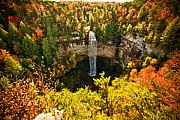 Tennessee River Digital Art Framed Prints - Fall Creek Falls Framed Print by Paul Bartoszek