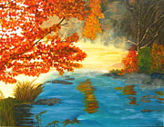 Foggy Day Originals - Fall Day by Angela Gale