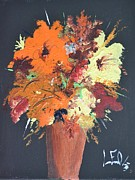 Organe Prints - Fall Flower Arrangement 1 Print by Leo Gordon