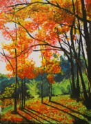 Change Paintings - Fall by Fred Reid