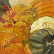 Abundance Mixed Media - Fall Harvest by Suzanne Kfoury