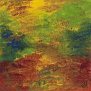 Fall Impressions Print by Patty Vicknair
