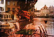 Sparkling Prints - Fall in Lucerne Switzerland Print by Susanne Van Hulst